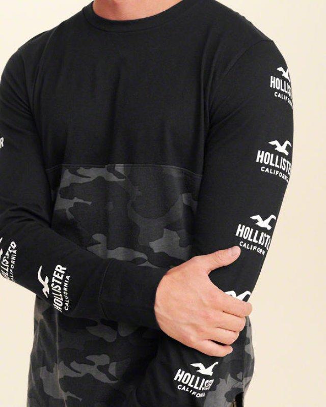 0b3ce36c4 Pánské tričko Hollister Cali Army | Napasport.sk