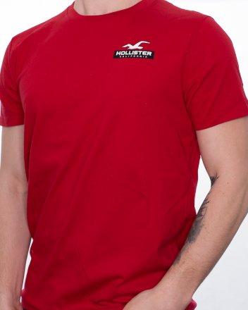 eb5b9e4a6ed1 Pánské tričko Hollister Camo červené